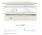 Naturepedic Organic  Verse Mattress (Twin, Twin XL, Full, Queen)