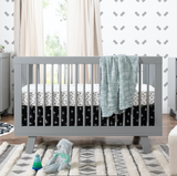 babyletto lifestyle Hudson crib grey