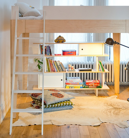 Oeuf Perch Loft Bed In Full Size Zac And Zoe