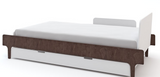 river twin bed walnut oeuf