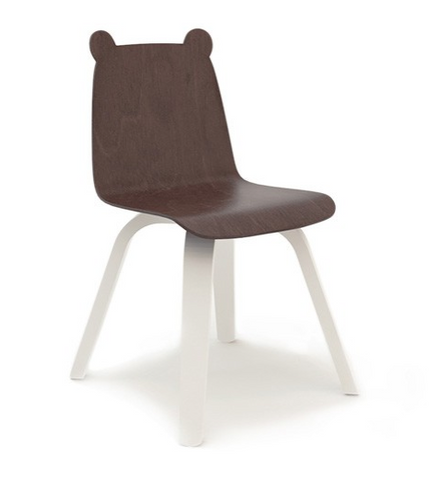 oeuf bear chair walnut
