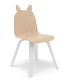 Oeuf Rabbit Play Chair Set of 2 (white or birch)