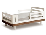 oeuf classic toddler bed in walnut