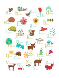 Alphabet Poster (multilingual option)
