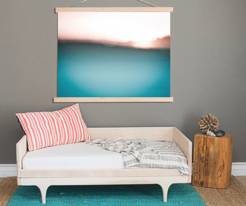 The Surf Wall Print