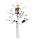 tree bookcase nurseryworks white