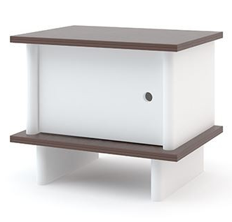 oeuf night stand walnut