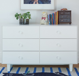 Oeuf Rhea Base 6-Drawer Dresser (3 color options)