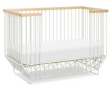 Mod 2-in-1 Convertible Crib with Toddler Bed Conversion Kit
