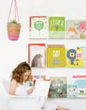 acrylic book shelf childrens
