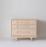 stylish and quality maple wood dresser for kids by kalon studios