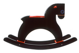 Playsam Rocking Horse (red,black)