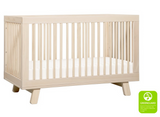 babyletto hudson crib washed natural