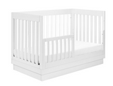 harlow crib with toddler bed conversion kit rails