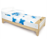 P'kolino Modern Toddler Bed Affordable and stylish wood and white