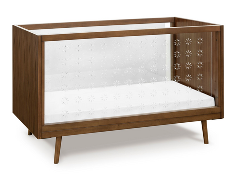ubabub nifty crib acrylic see through crib modern retro 60s style