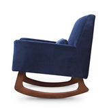 Sleepytime Rocker in Velvet (Navy and Blush)