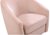 PINK VELVET STYLISH AFFORDABLE GLIDER NURSERY