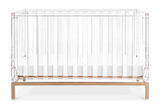 posh baby crib acrylic stylish crib