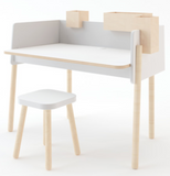 oeuf Brooklyn desk and stool