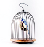 JinGoo Bluetooth Speaker + Light.  birdcage