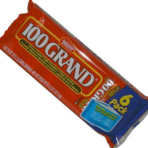 100 grand snack size