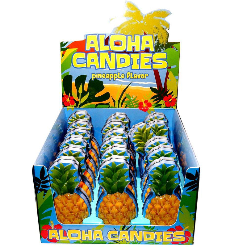 Aloha Pineapple Candy Mints and Tins