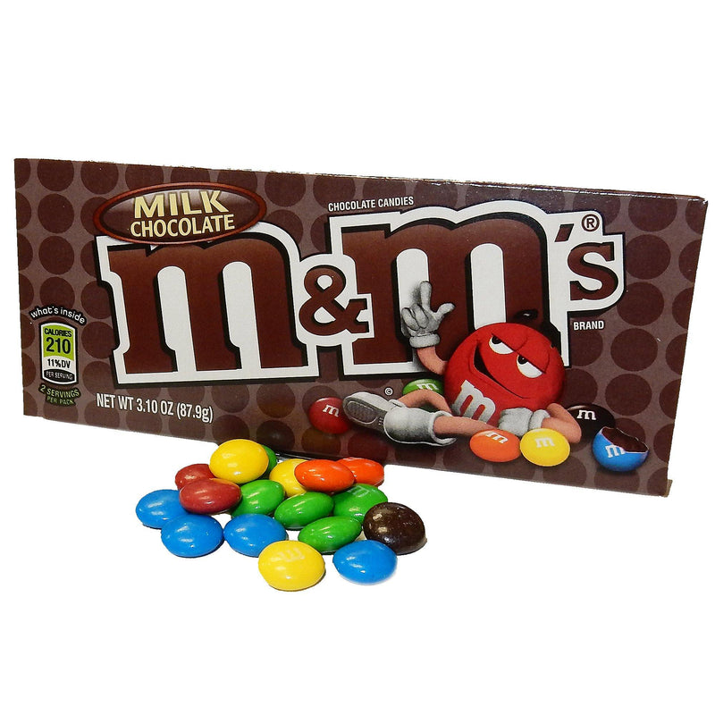 M&Ms Milk Chocolate Theater Candy