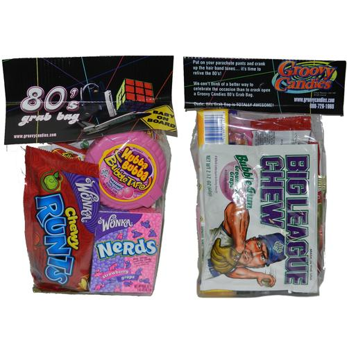 1980s retro candy grab bag