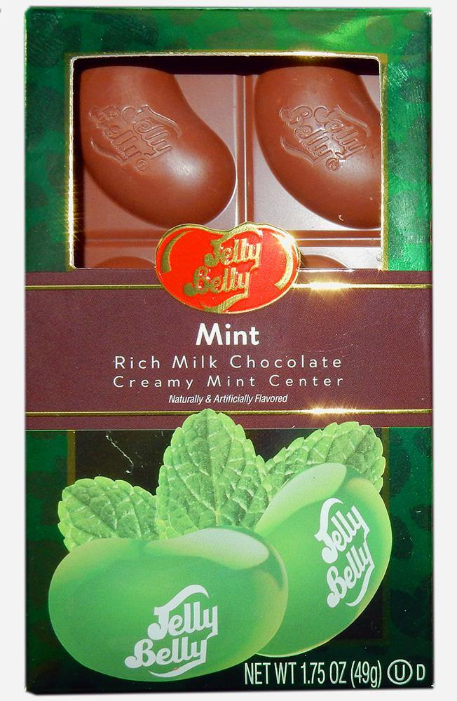 Jelly Belly Gourmet Mint Milk Chocolate Bar