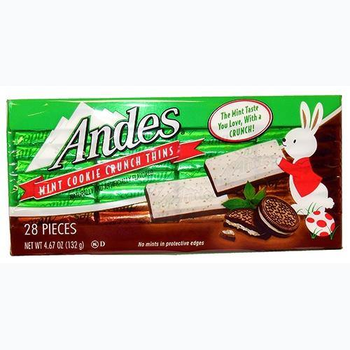 Andes Mint Cookie Easter Box