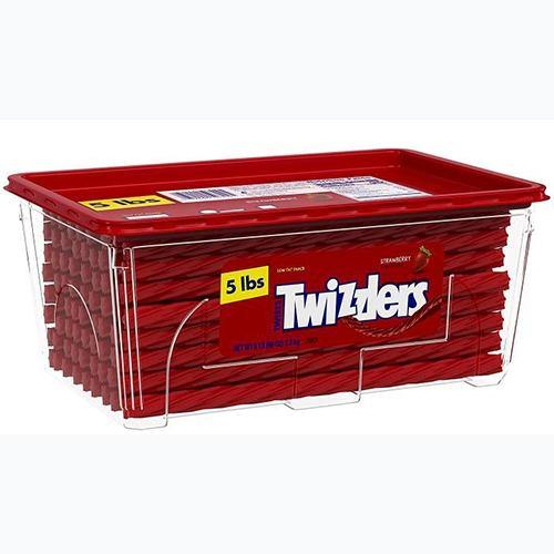 Strawberry Twizzlers Twists 5lb tub