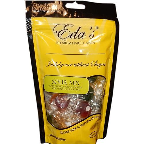 Eda's Sour Mix Sugar Free Candy 3.5oz bags (