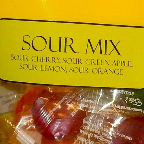 Eda's Sour Mix Sugar Free Candy 3.5oz bags