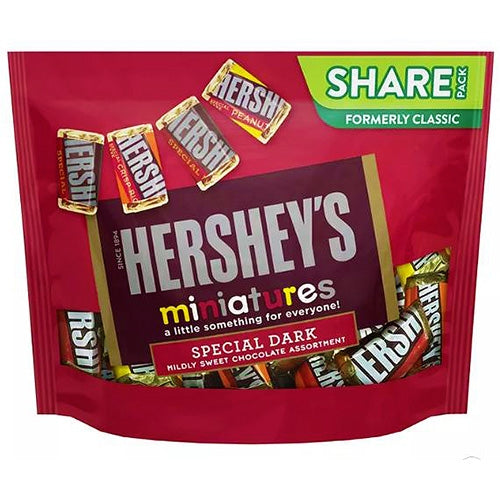 Hershey's Special Dark Miniatures Share pack