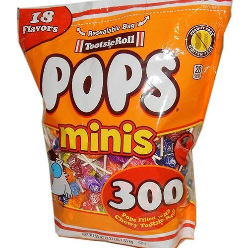 Tootsie Pop Miniatures 300 ct Bag