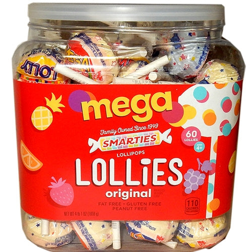 Lollies Wrapped - 60ct jar