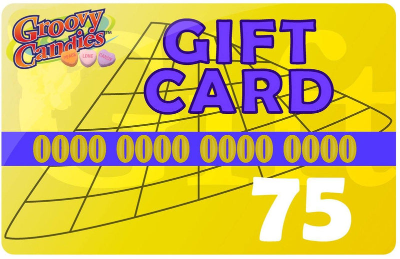 Electronic Gift Card for use at Groovycandies.com