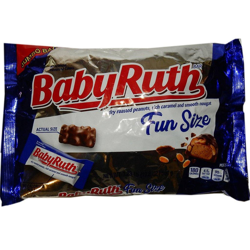 Baby Ruth Fun Size Halloween Candy