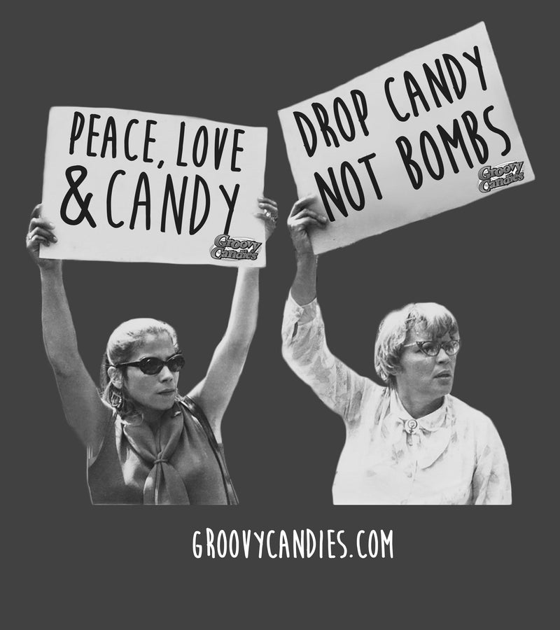 Drop Candy Not Bombs Socks