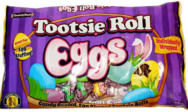Tootsie Roll Eggs Easter candy