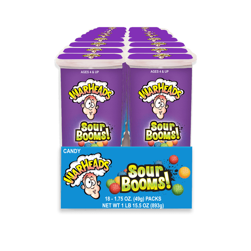 Warheads Sour Booms Candy 18ct