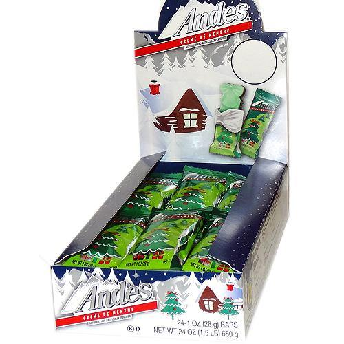 andes creme de menthe christmas trees