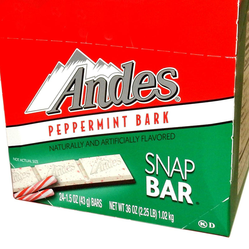 Andes Peppermint Bark Snap Bar