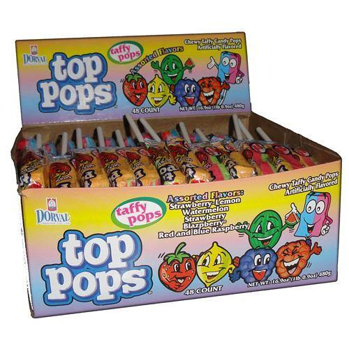 assorted top pops