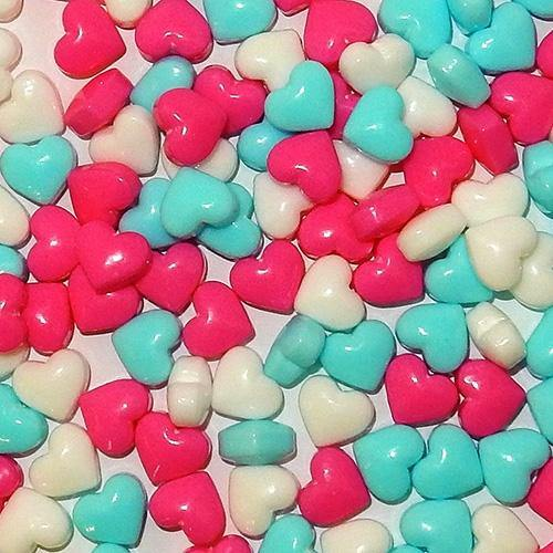 Baby Love Heart shaped sweet tart candies