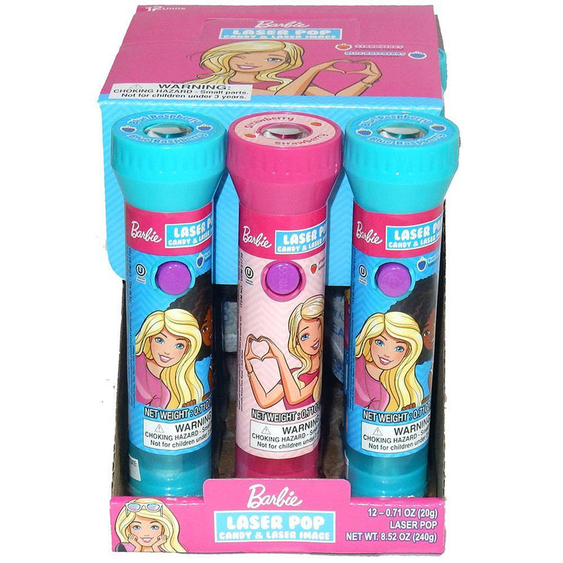 Barbie Laser Pop with Candy