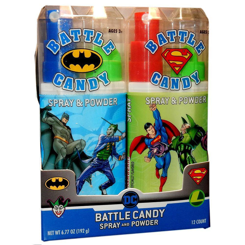 DC Comics Battle Candy Spray and Powder