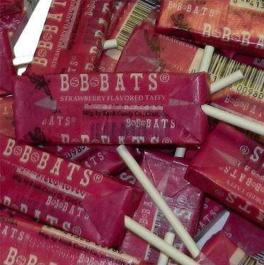 BB Bats taffy candy in 20ct bags