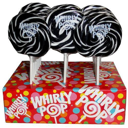 black whirly pops